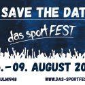 das sportFEST 2021 – Save the Date!